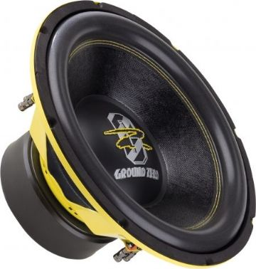 "38 cm / 15"" Subwoofer - 2 x 2 ohm 3"" voicecoil - 1800 WSPL"